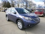 2013 Twilight Blue Metallic Honda CR-V EX-L AWD #79200566