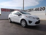 2013 Oxford White Ford Fiesta S Sedan #79200410