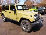 2013 Jeep Wrangler Unlimited Commando Green