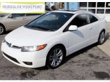 2007 Taffeta White Honda Civic Si Coupe #79263334