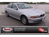 2000 Titanium Silver Metallic BMW 5 Series 528i Sedan #79263456