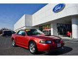 2002 Laser Red Metallic Ford Mustang GT Convertible #79263444