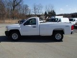 2013 Summit White Chevrolet Silverado 1500 Work Truck Regular Cab 4x4 #79263948