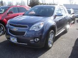 2013 Atlantis Blue Metallic Chevrolet Equinox LTZ AWD #79263422
