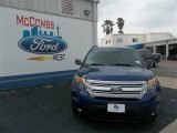 2013 Deep Impact Blue Metallic Ford Explorer XLT #79263287