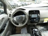 2013 Nissan LEAF SV Dashboard