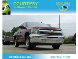 2013 Deep Ruby Metallic Chevrolet Silverado 1500 LT Crew Cab #79263687