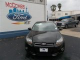 2013 Tuxedo Black Ford Focus Titanium Sedan #79263272