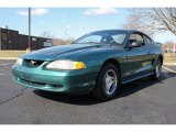 1998 Pacific Green Metallic Ford Mustang V6 Coupe #79263667
