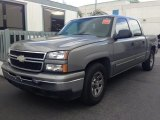 2006 Graystone Metallic Chevrolet Silverado 1500 LS Crew Cab #79263538