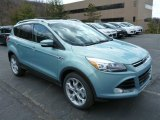 2013 Frosted Glass Metallic Ford Escape Titanium 2.0L EcoBoost 4WD #79263400