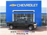 2004 Black Dodge Ram 1500 SLT Quad Cab 4x4 #79263642