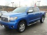 2007 Blue Streak Metallic Toyota Tundra Limited CrewMax 4x4 #7926286