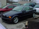 2002 Orient Blue Metallic BMW 3 Series 325i Coupe #7910824