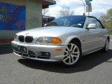 2003 Titanium Silver Metallic BMW 3 Series 330i Convertible #7922035