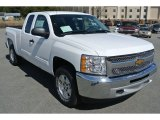 2013 Summit White Chevrolet Silverado 1500 LT Extended Cab #79263773