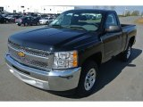 2013 Black Chevrolet Silverado 1500 LS Regular Cab #79263757