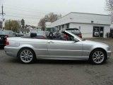 2006 Titanium Silver Metallic BMW 3 Series 330i Convertible #7912548