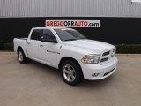 2011 Bright White Dodge Ram 1500 Big Horn Crew Cab #79320458