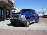 2003 Sonic Blue Metallic Ford F250 Super Duty XLT SuperCab 4x4 #79320329