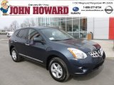 2013 Graphite Blue Nissan Rogue S AWD #79320579