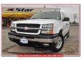 2004 Summit White Chevrolet Silverado 1500 Z71 Crew Cab 4x4 #79320450