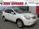 2013 Pearl White Nissan Rogue SV AWD #79320577
