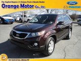 2011 Dark Cherry Kia Sorento LX AWD #79320319