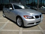 2007 Titanium Silver Metallic BMW 3 Series 328xi Sedan #7921059