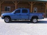 2004 Atlantic Blue Pearl Dodge Dakota SXT Quad Cab 4x4 #79320785