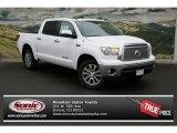 2013 Super White Toyota Tundra Platinum CrewMax 4x4 #79320046