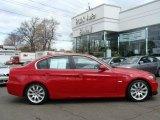 2007 Crimson Red BMW 3 Series 335i Sedan #7912562