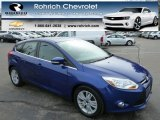 2012 Blue Candy Metallic Ford Focus SEL 5-Door #79320683