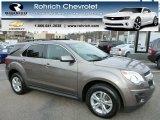2010 Mocha Steel Metallic Chevrolet Equinox LT AWD #79320680