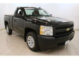 2008 Black Chevrolet Silverado 1500 LS Regular Cab #79320552
