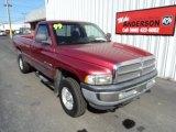 1999 Metallic Red Dodge Ram 1500 SLT Regular Cab 4x4 #79320768