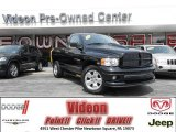 2004 Black Dodge Ram 1500 Rumble Bee Regular Cab 4x4 #79320752