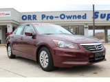2011 Basque Red Pearl Honda Accord LX Sedan #79320418