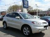 2008 Alabaster Silver Metallic Acura RDX Technology #7912583