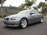 2008 Space Grey Metallic BMW 3 Series 335i Coupe #7912823