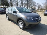2013 Polished Metal Metallic Honda CR-V LX AWD #79371889