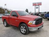 2009 Flame Red Dodge Ram 1500 SLT Regular Cab 4x4 #79371885