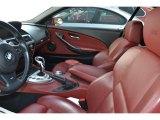 2007 BMW M6 Interiors