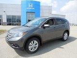2013 Polished Metal Metallic Honda CR-V EX-L AWD #79371872