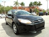 2012 Tuxedo Black Metallic Ford Focus S Sedan #79371466