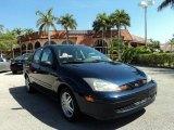 2003 Twilight Blue Metallic Ford Focus SE Sedan #79371465