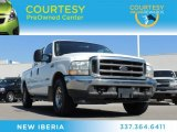 2004 Oxford White Ford F250 Super Duty Lariat Crew Cab #79372004