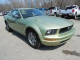 2005 Ford Mustang V6 Deluxe Coupe Front 3/4 View