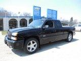 2003 Black Chevrolet Silverado 1500 SS Extended Cab AWD #79371460