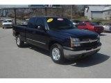 2005 Dark Blue Metallic Chevrolet Silverado 1500 LS Extended Cab 4x4 #79371861